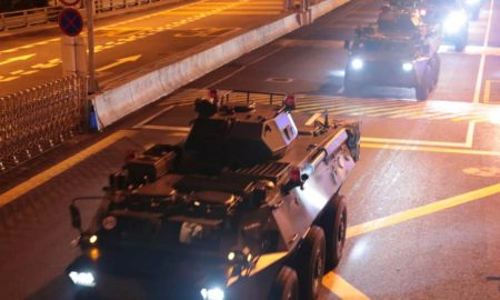 Hong Kong, China, Beijing, ejército, protestas