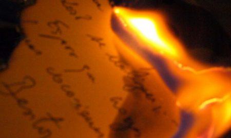 cartas, pareja, novia, joven