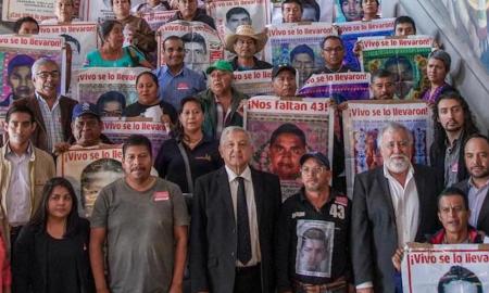 desaparecidos, ayotzinapa, amlo, destacados