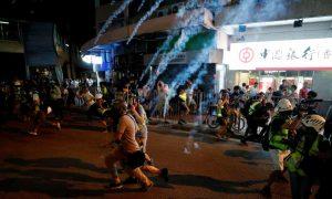 policías hong kong