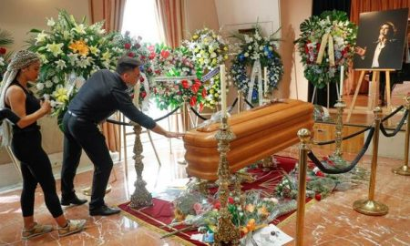 Camilo Sesto, funeral, Madrid, fans