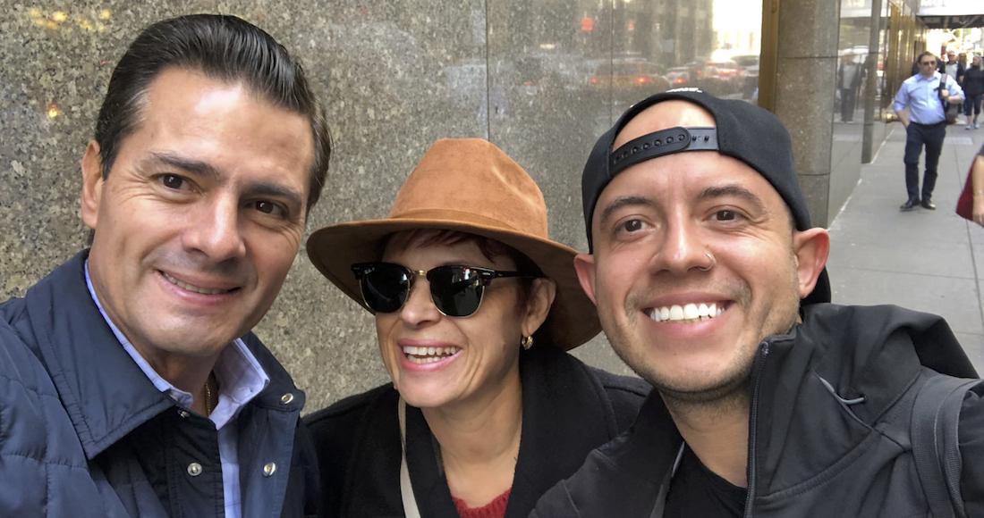 peña, peña nieto, selfie, nueva york