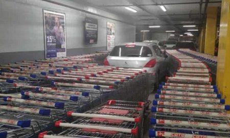 Argentina, supermercado, vehículo, viral, redes sociales