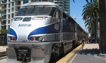 ciclista, tren, San Diego, Carlsbad, accidente