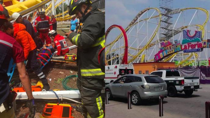 Feria, juego mecánico, accidente, muerte, Chapultepec, CDMX, viral, video