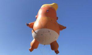 San Diego, California, EEUU, Trump, baby trump