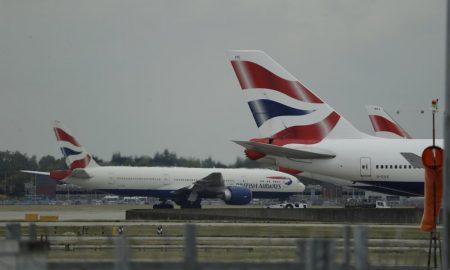 huelga, pilotos, aerolíneas, aviones, british airlines, reino unido