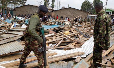 Kenya, África, muertes, menor de edad, colapso