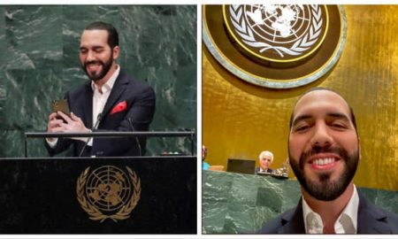 ONU, El Salvador, Nayib Bakele