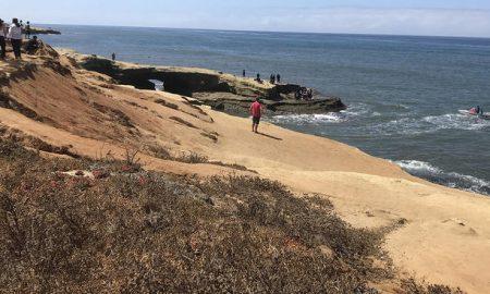 San Diego, playa, bomberos, rescate, salvavidas