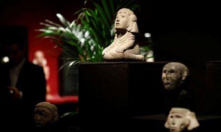 Francia, subasta, México, objetos prehispánicos