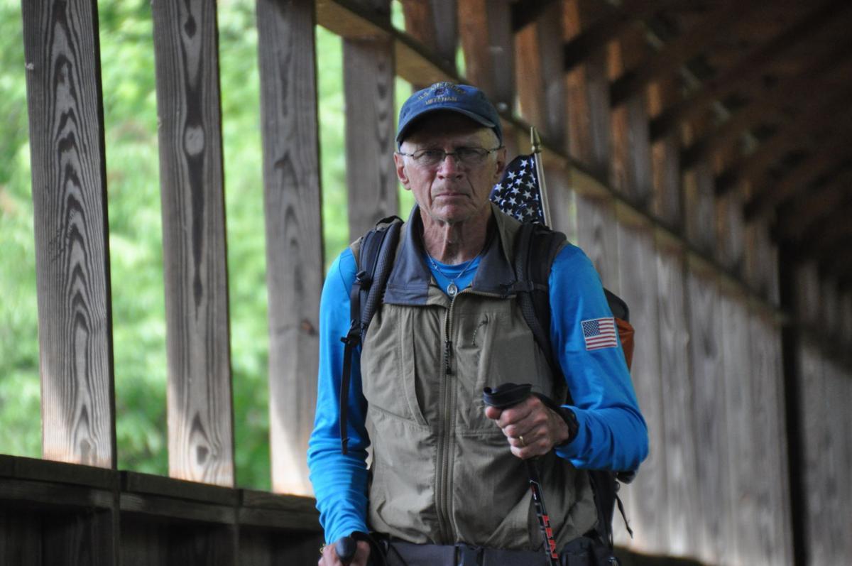 William Shutterworth, caminata, EEUU, veteranos, San Diego