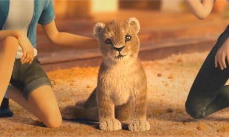 cría de leones