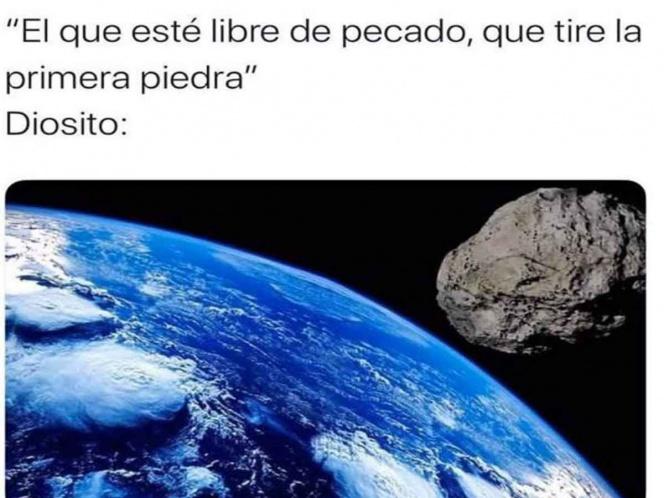 memes, meteorito, asteroide, nasa