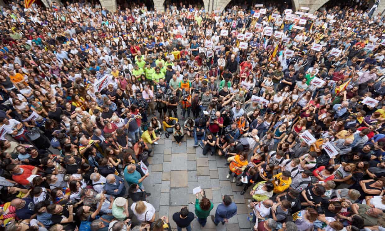 líderes catalanes