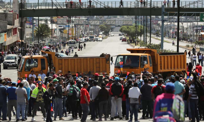 Ecuador, Quito, protestas, Rafael Correa, Lenin Moreno