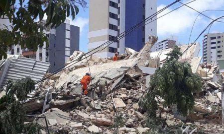 Fortaleza, Brasil, edificio, muerto, video, desaparecidos, derrumbe