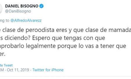 Daniel Bisogno, Alfredo Álvarez, Twitter, viral