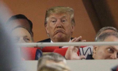 bésibol, Serie Mundial, Trump, video, EEUU