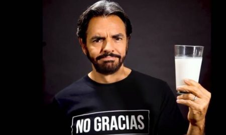 Eugenio Derbez, diputado, leche, video