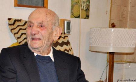 Gerneth, Alemania, hombre más viejo, fallece