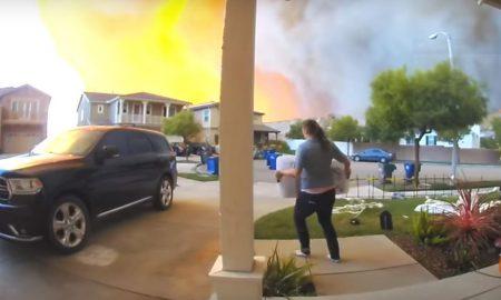 incendio, incendio forestal, Santa Clarita, California