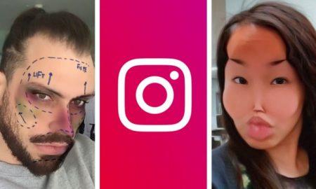 Instagram, redes sociales, filtros, cirugías estéticas