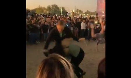 Mala Luna, festival, mujer, video, viral
