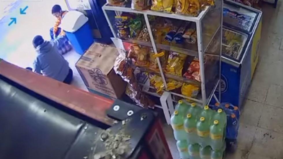 menor de edad, robo, tienda, Ciudad de México, video, viral