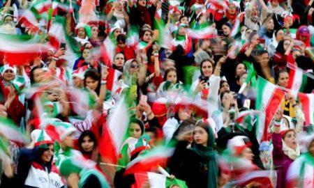 Irán, estadios, futbol, mujeres