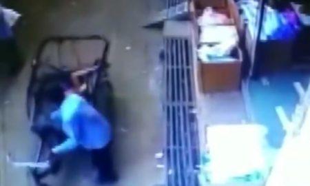 video, viral, India, niño, bicitaxi
