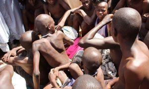 Nigeria, niños, abuso, menores de edad, rescate