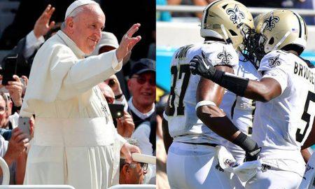 papa Francisco, futbol americano, Twitter, redes sociales, viral
