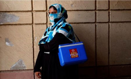 polio, Pakistán, vacunas, vacunación, enfermedades