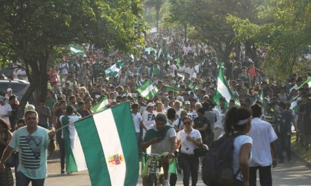 Bolivia, incendios forestales, manifestación, Evo Morales