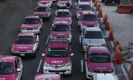 taxistas, manifestación, Uber, Ciudad de México, destacados