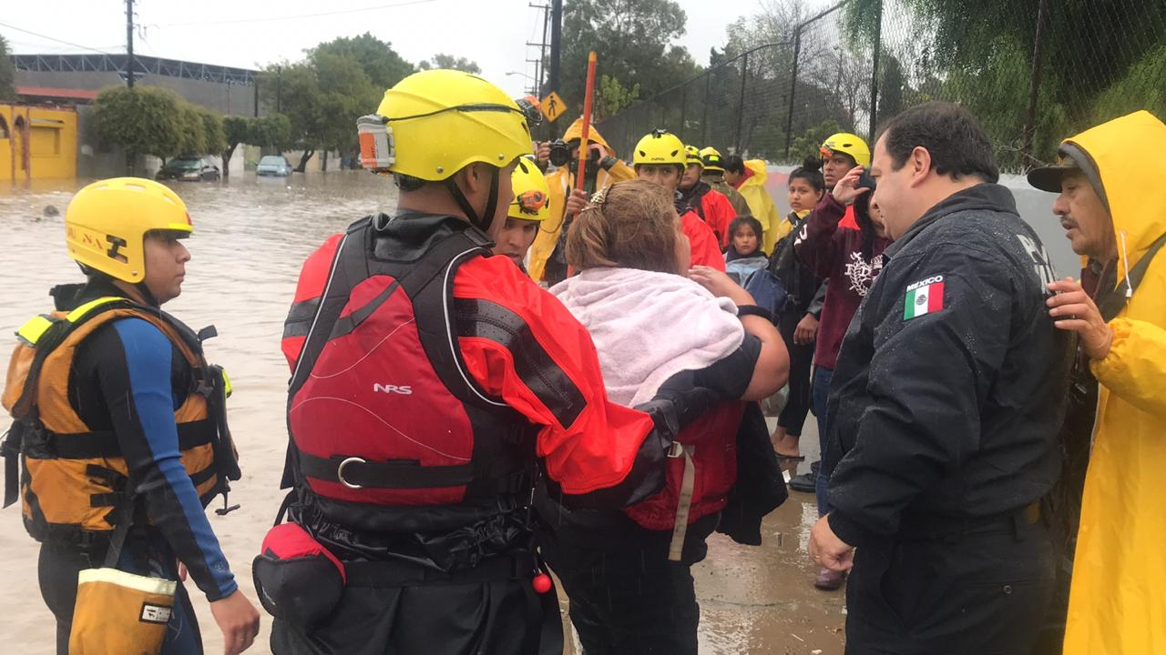 SSPCM,rescate,lluvias