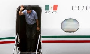 evo morales, segob, visa humanitaria, mexico, bolivia