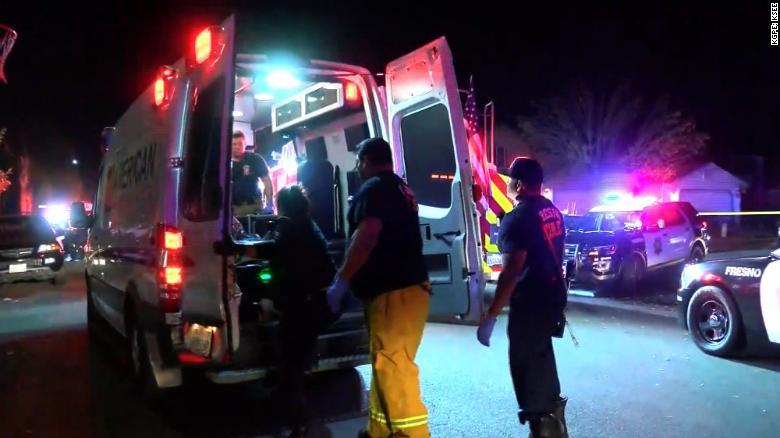 tiroteo, Fresno, California, muertos, heridos