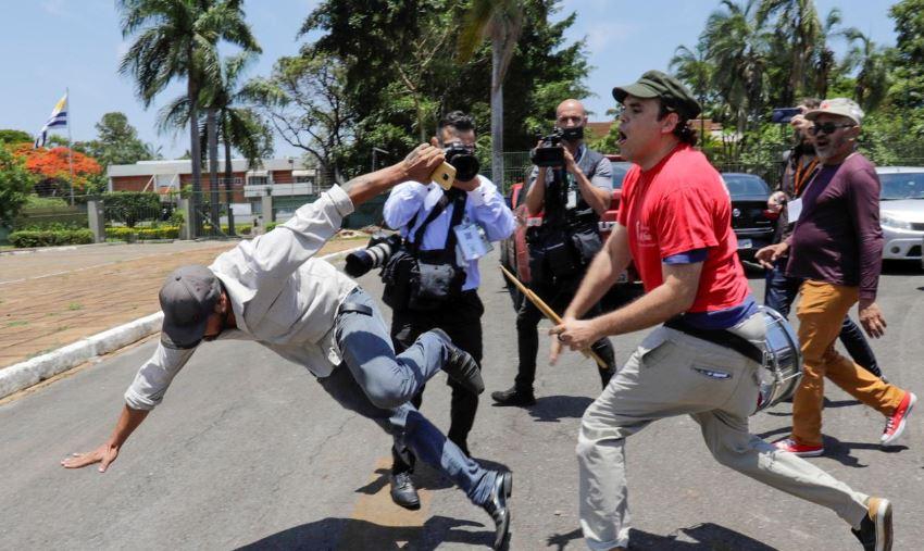 Guaidó, Maduro, Brasil, Brasilia, embajada