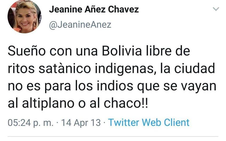 Jeanine Áñez, Bolivia, Evo Morales, indígenas, destacados