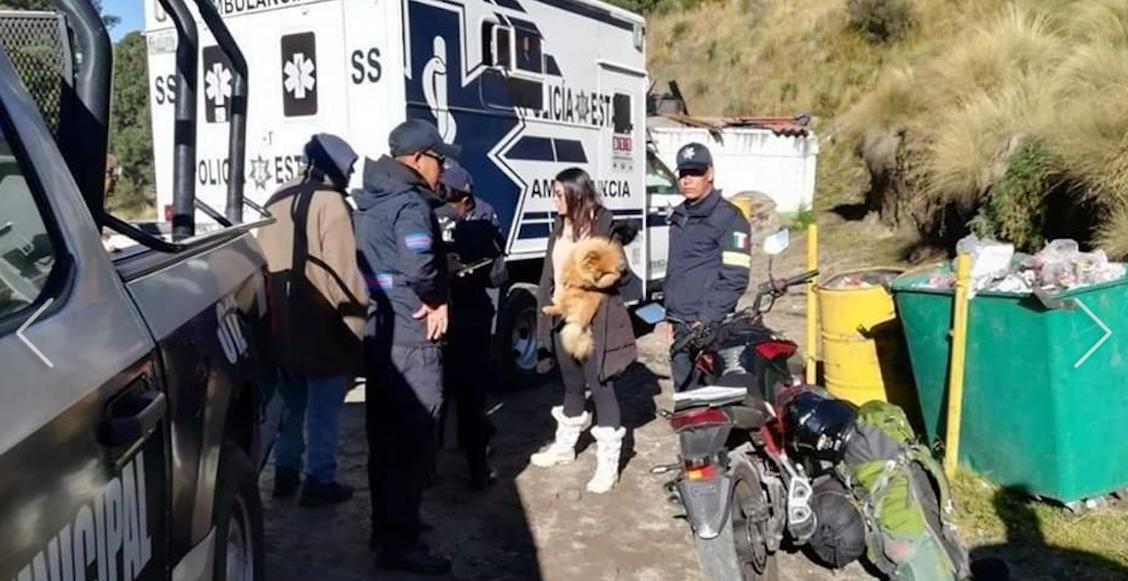 Nevado de Toluca, actor, turista, secuestro, Estado de México