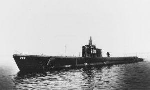 submarino, EEUU, Segunda Guerra Mundial