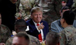 Trump, Afganistán, Día de Acción de Gracias, ejército