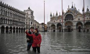 Venecia, emergencia, inundaciones, Europa, clima