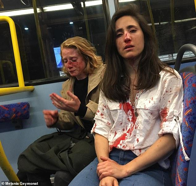 pareja atacada Londres