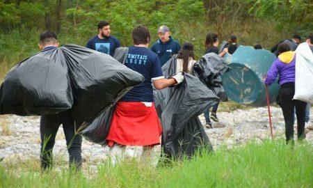 voluntarios basura