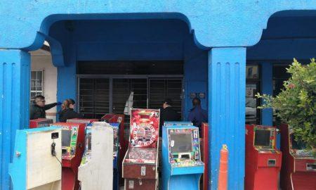 FGE, máquinas tragamonedas, decomiso,