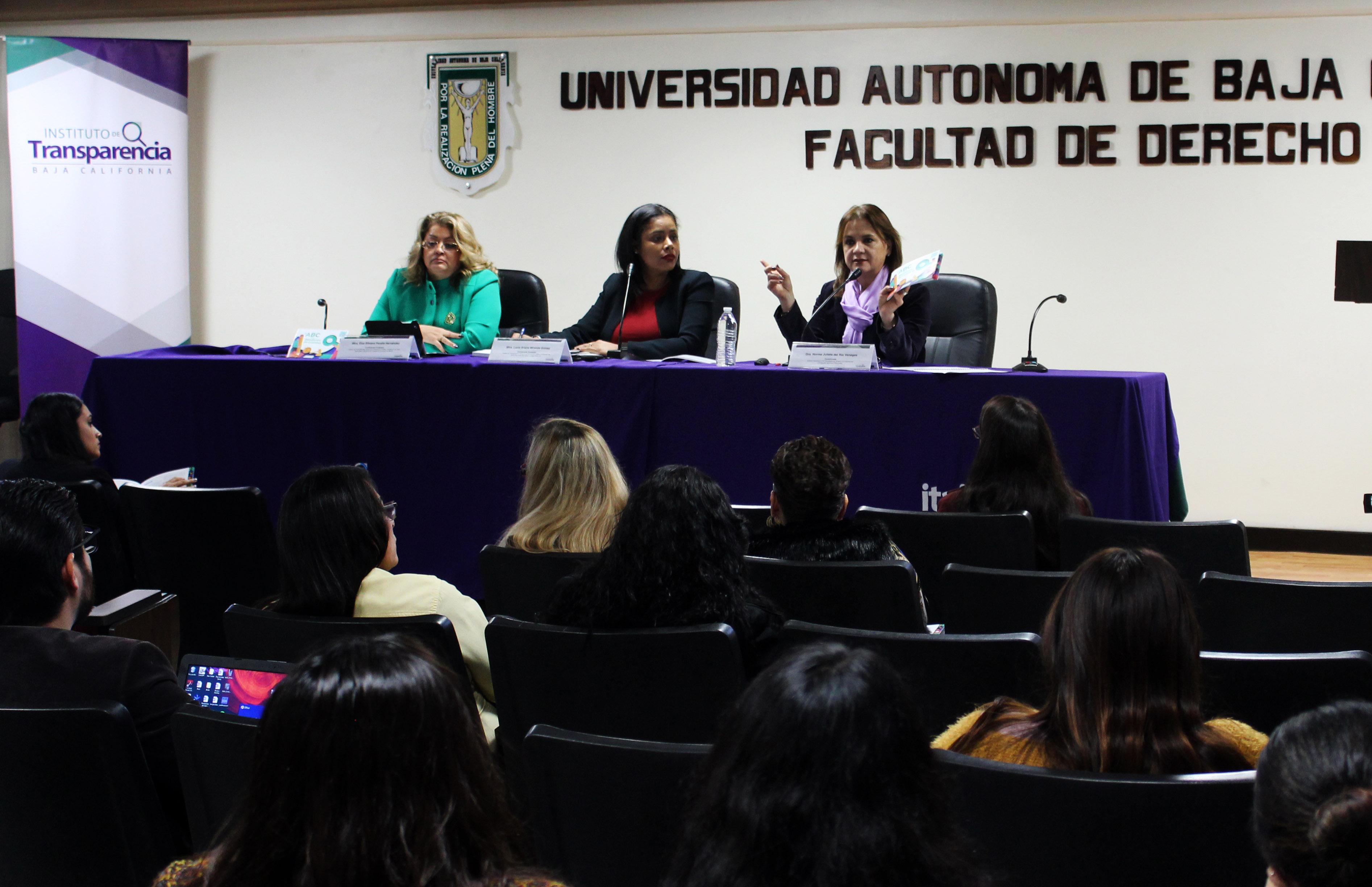 Itaipbc, Semana Estatal de Transparencia,Derechos