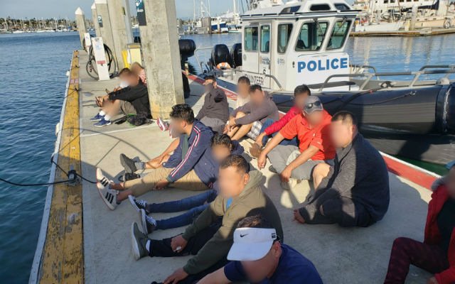 contrabando marítimo,Patrulla Fronteriza, detenidos